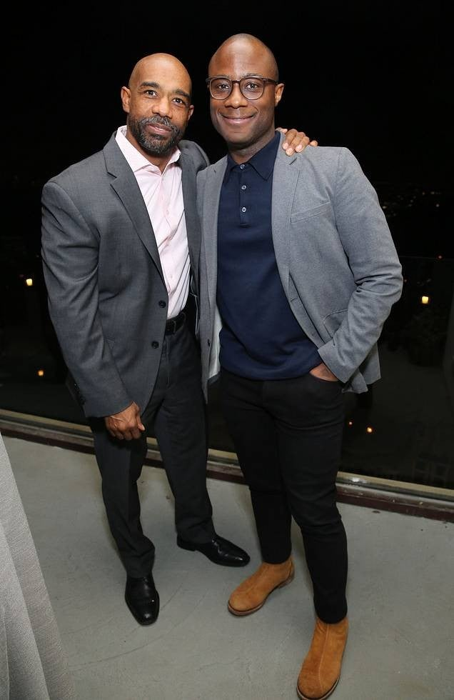 Michael Beach and Barry Jenkins