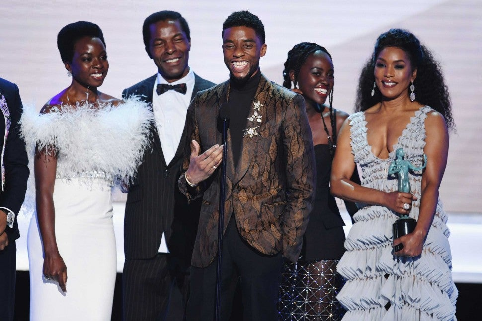 'Black Panther' Cast at the 25th Annual Screen Actors Guild Awards