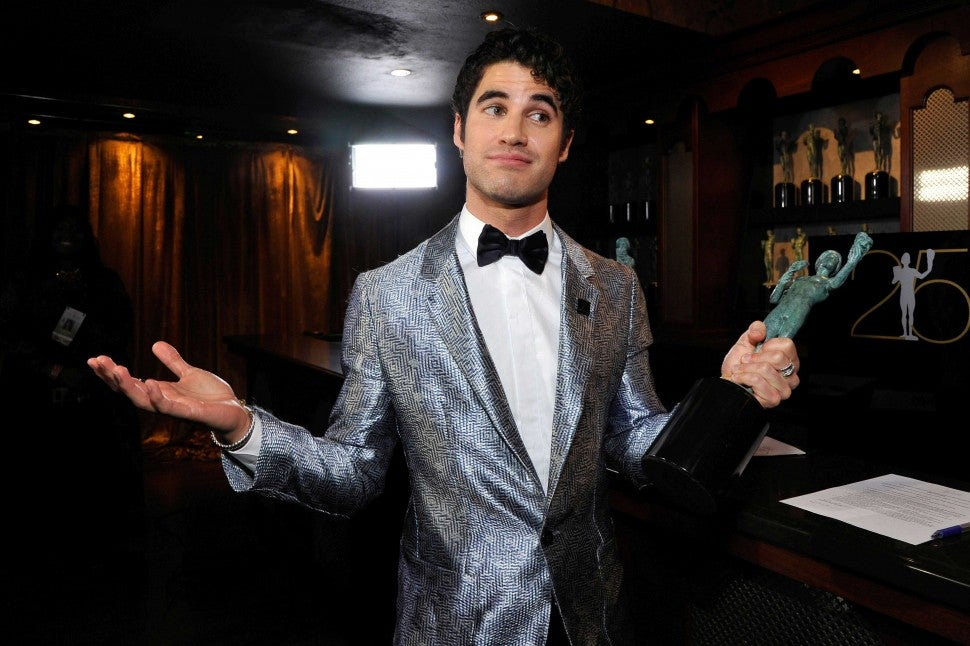 Darren Criss at the 25th Annual Screen Actors Guild Awards