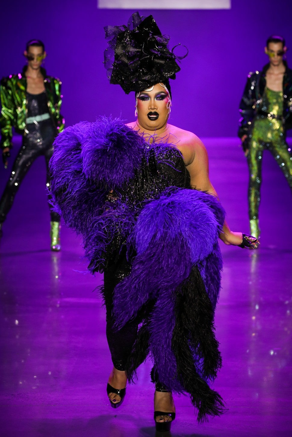 Patrick Starrr Disney Villains x The Blonds fashion show