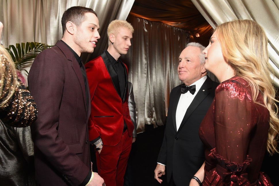 Pete Davidson, Machine Gun Kelly, Lorne Michaels, Sophie Michaels
