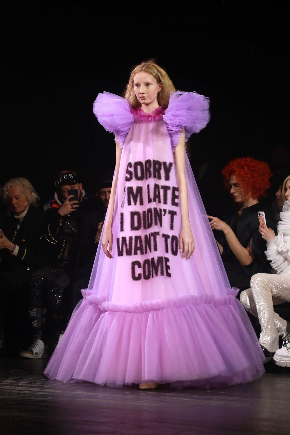 Viktor & Rolf spring 2019 couture late dress