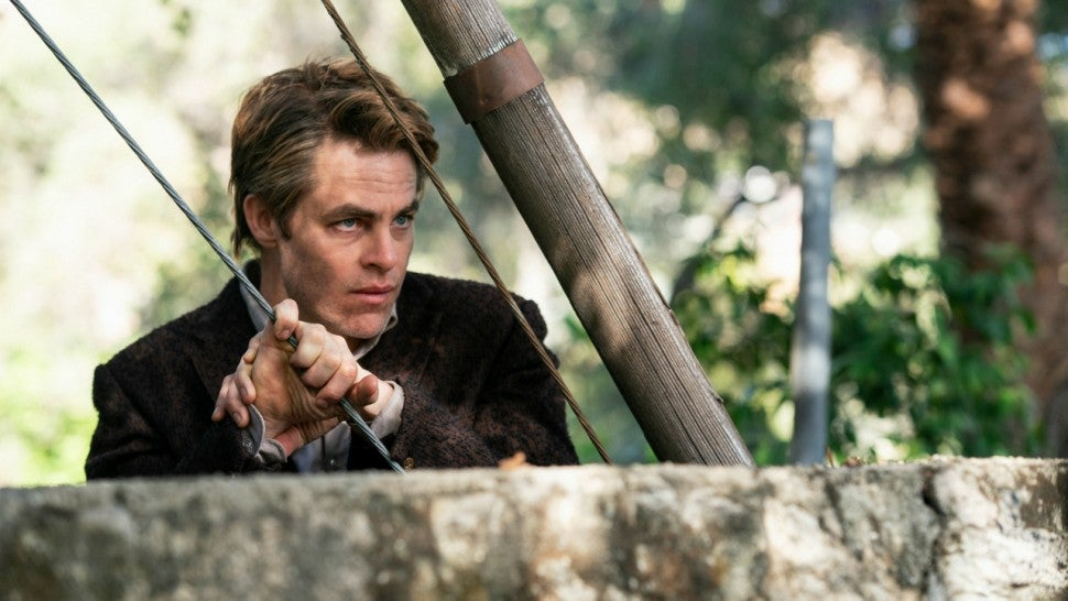 Chris Pine in I Am the Night