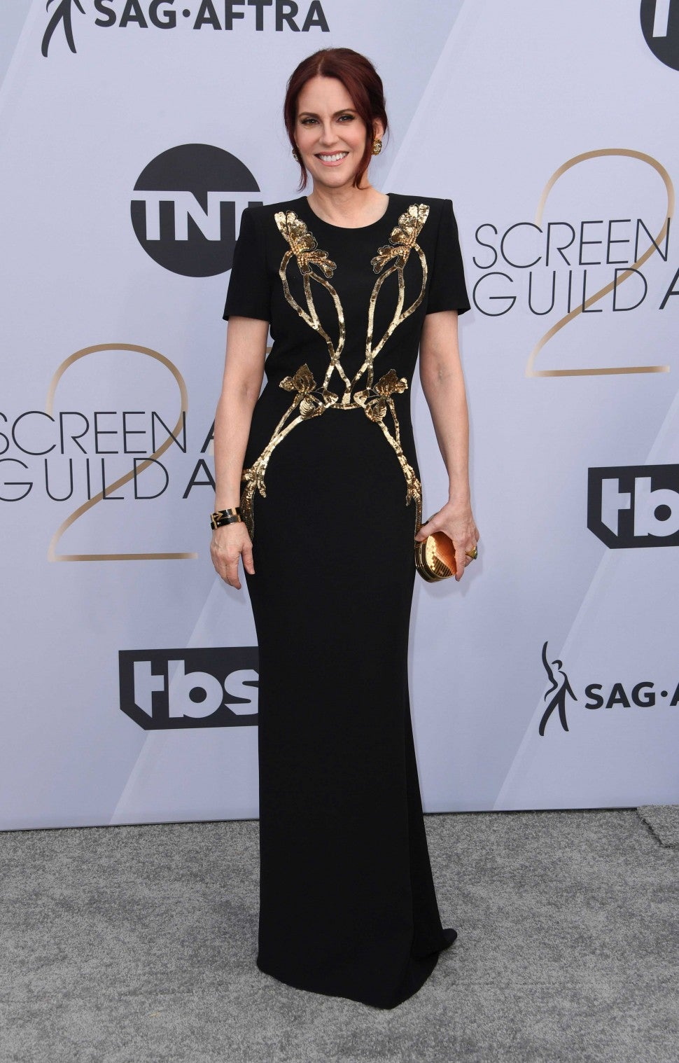 Megan Mullally at the 25th Annual Screen Actors Guild Awards
