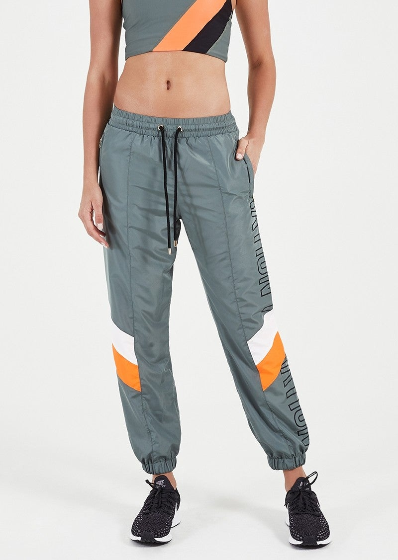 PE Nation blade track pant