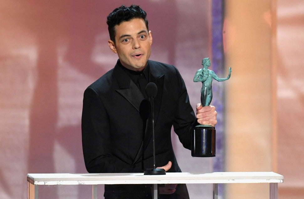 Rami Malek at the 25th Annual Screen Actors Guild Awards