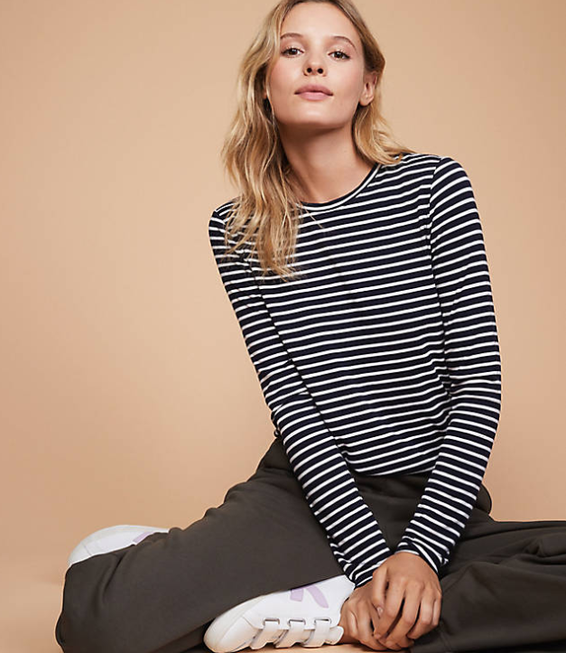 Lou & Grey striped tee