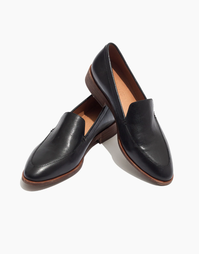 Madewell black Frances loafer