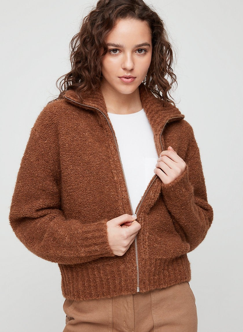 Wilfred Free brown sweater