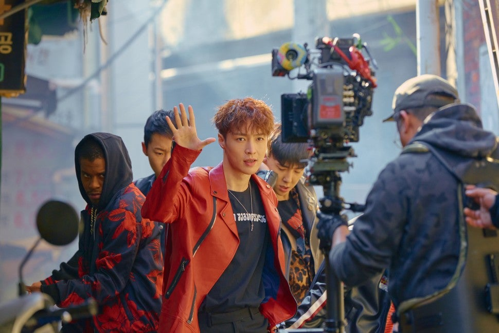 Lay Zhang music video BTS, jason derulo
