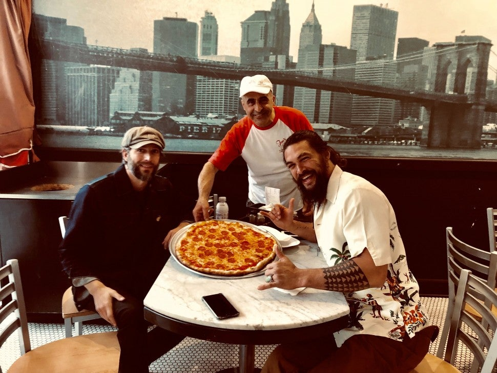 Jason Momoa Joe's Pizza