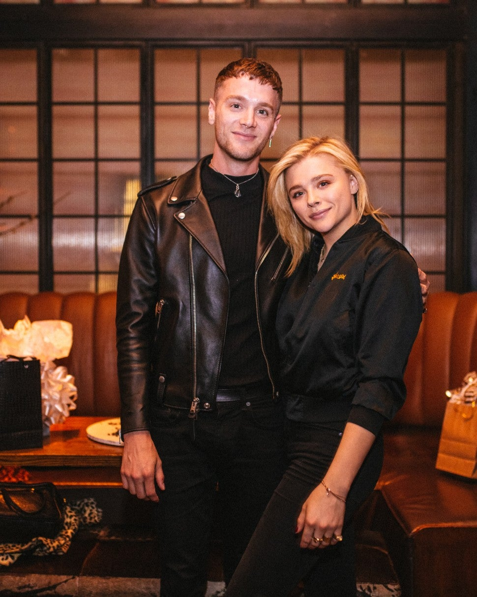 Chloe Grace Moretz brother's birthday party