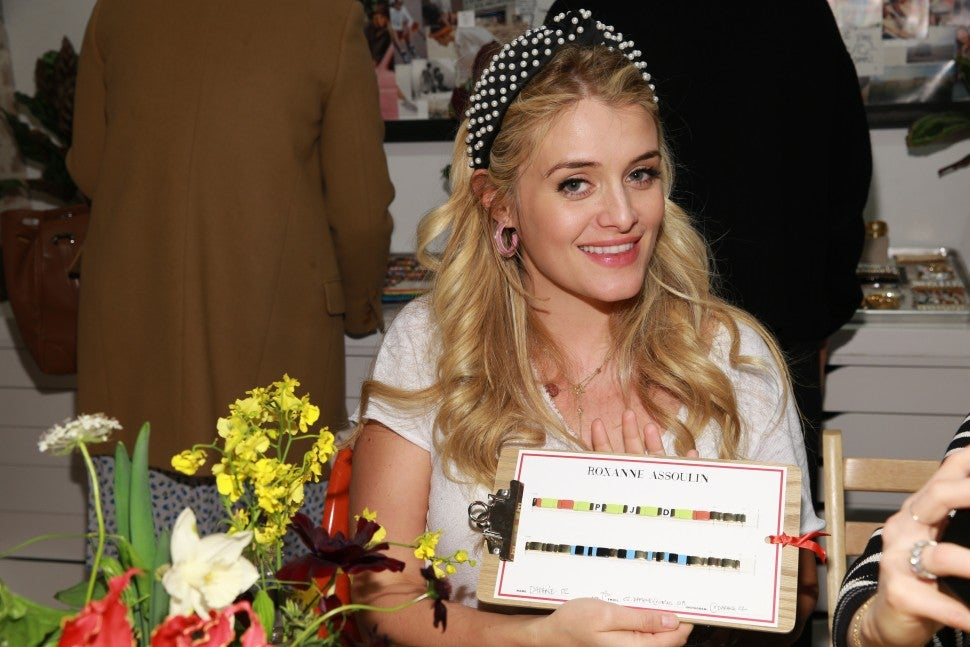 Daphne Oz, Roxanne Assoulin Showroom. Notables