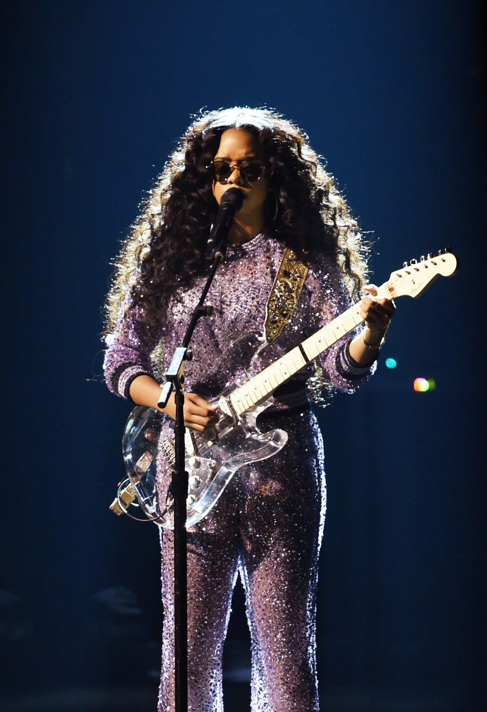 H.E.R. at 2019 grammys