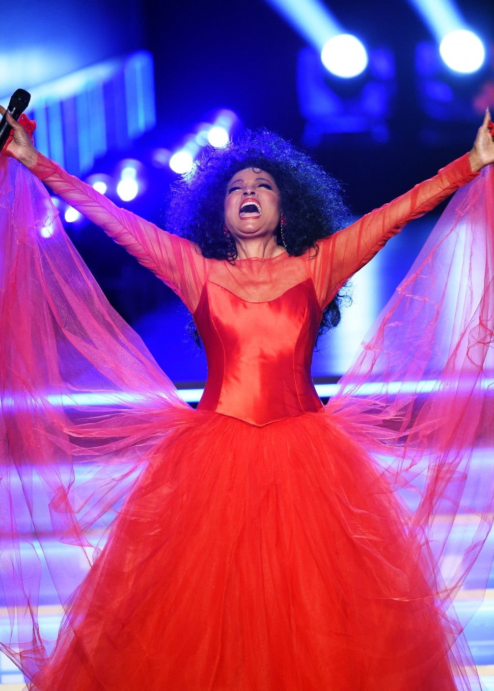 Diana Ross performs at 2019 grammys