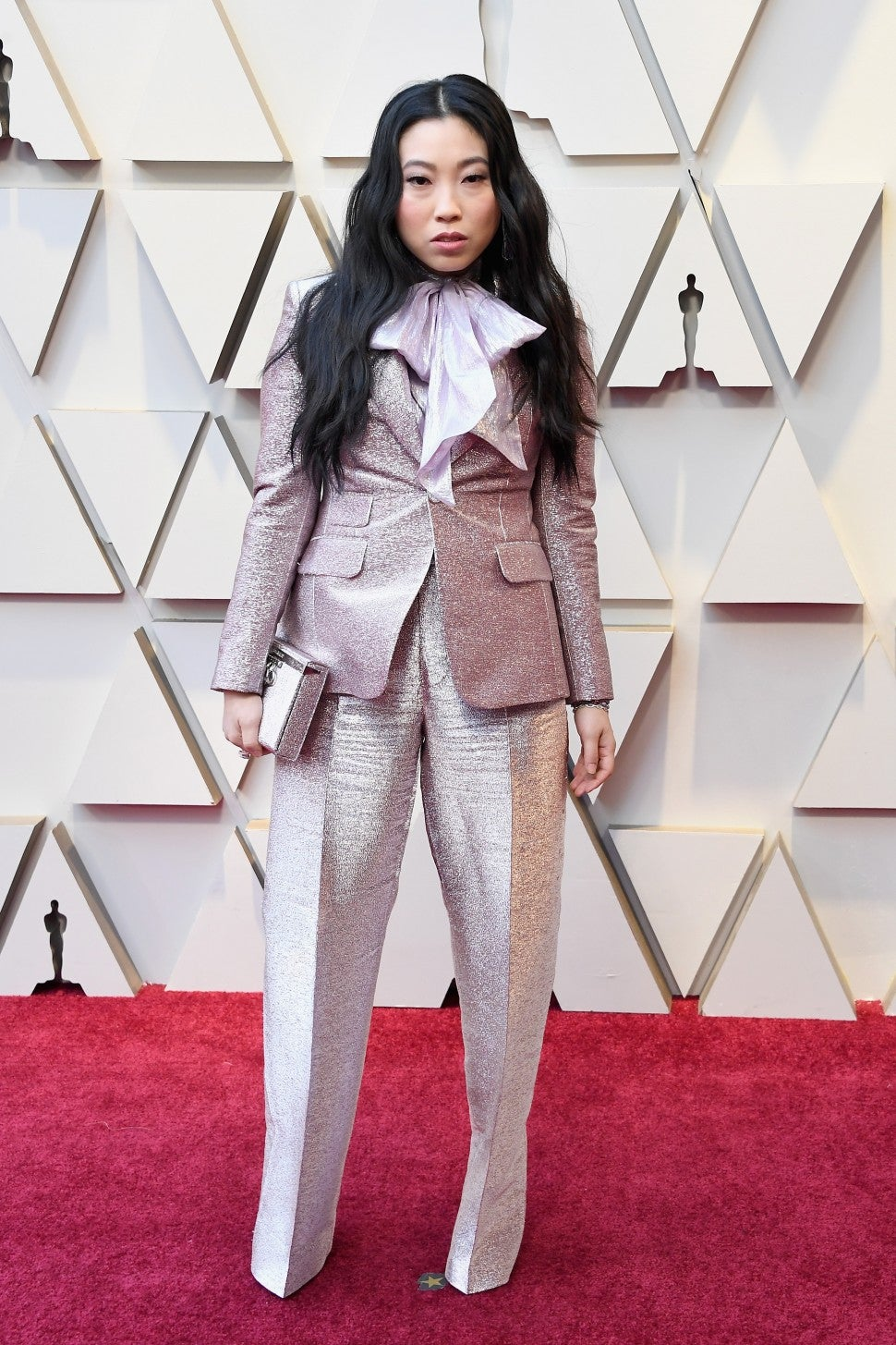 Awkwafina at the 91st Annual Academy Awards