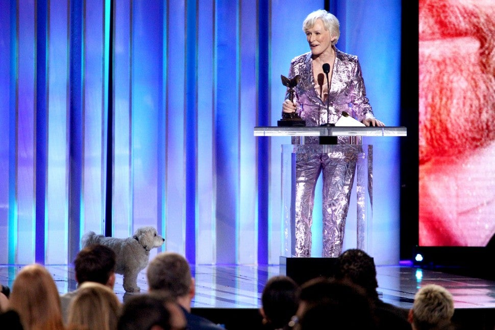 Glenn Close Indie Spirit Awards