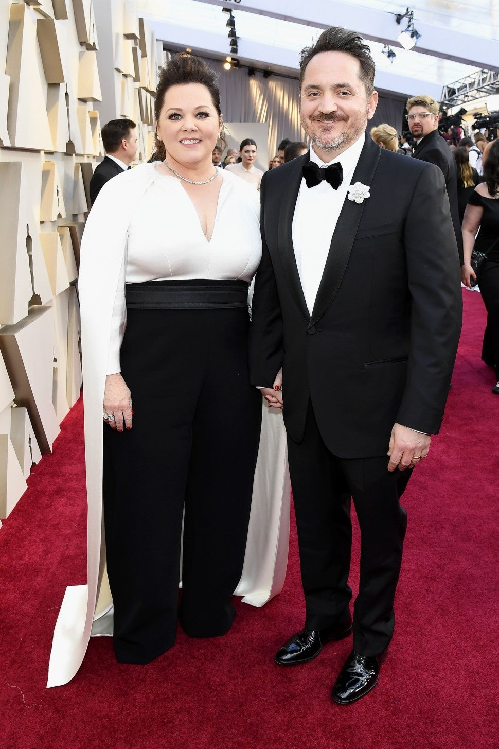 Melissa McCarthy and Ben Falcone at the 91st Annual Academy Awards