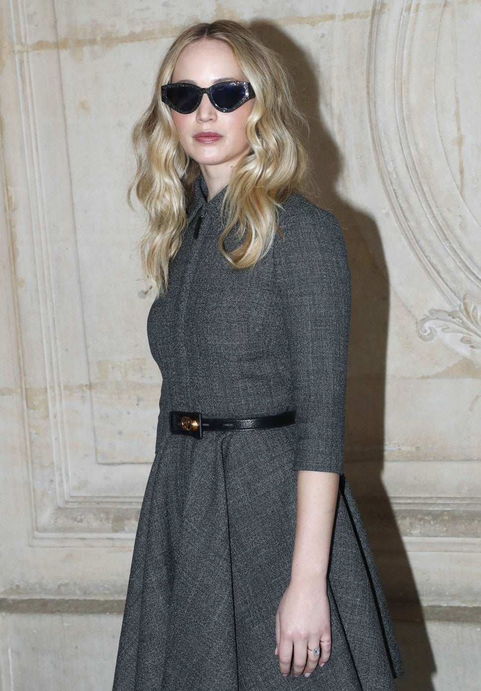 Jennifer Lawrence at Dior show