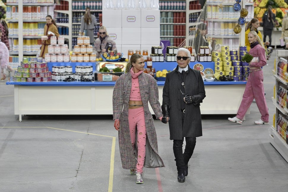 Chanel fall/winter 2014 supermarket set