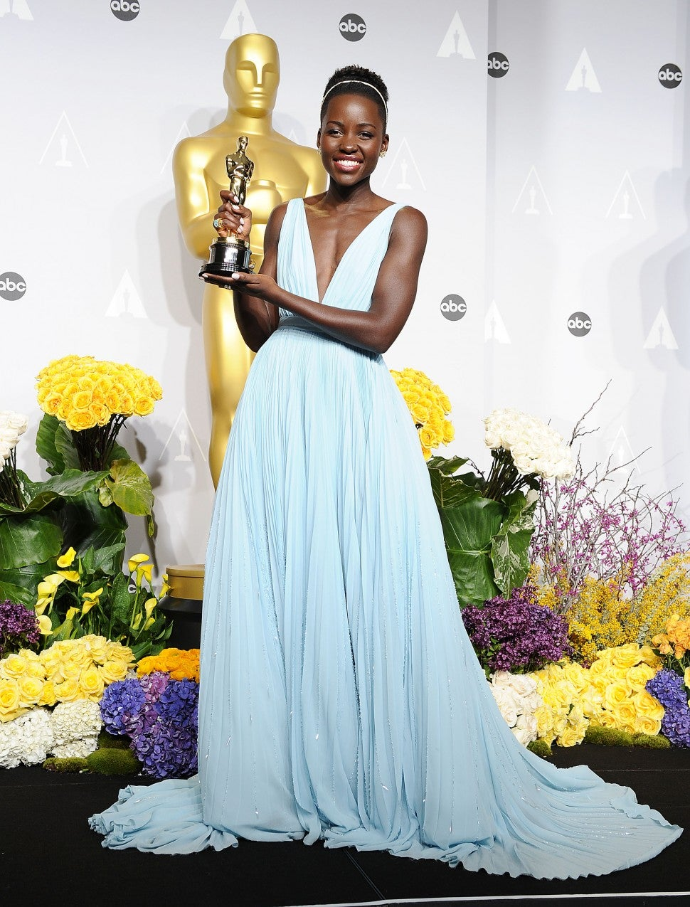 Lupita Nyong'o Oscars 2014 dress