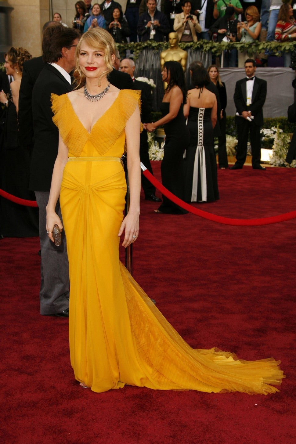 Michelle Williams Oscars 2006 dress
