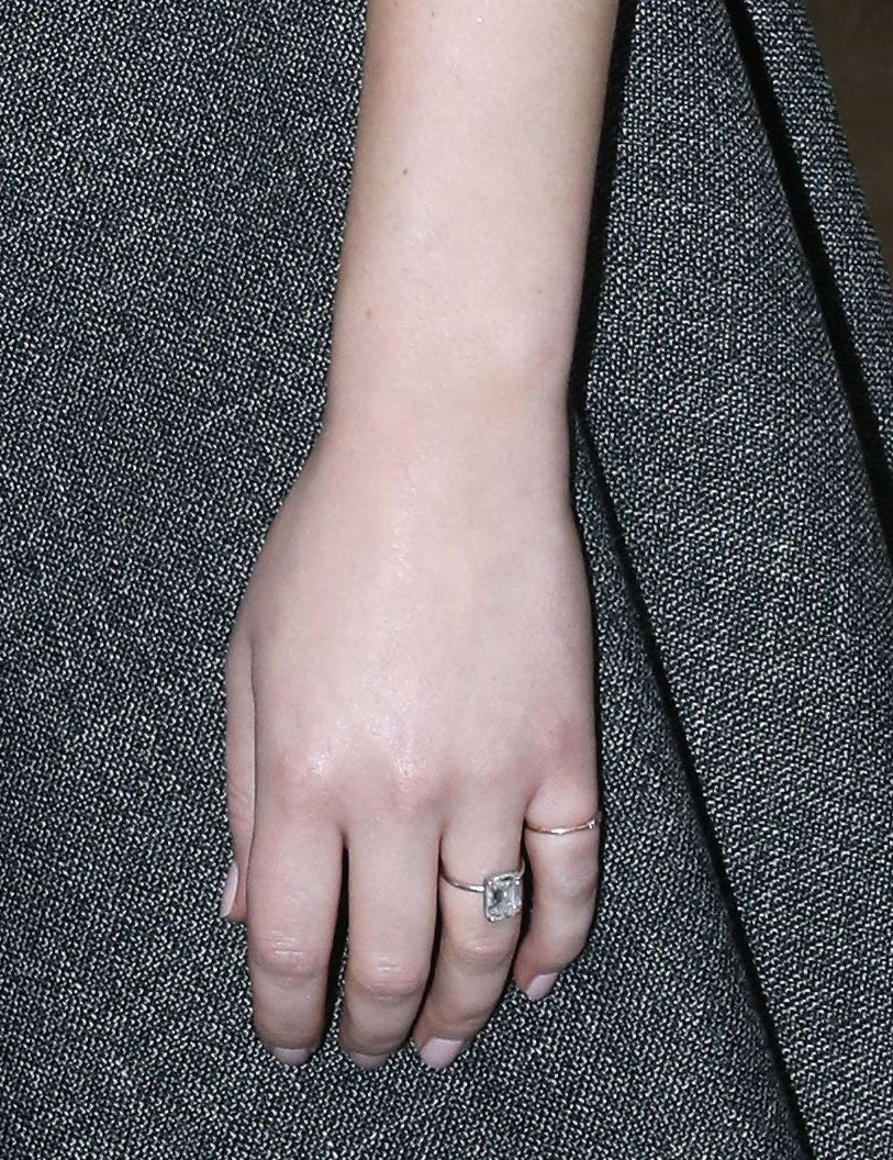 Jennifer Lawrence engagement ring