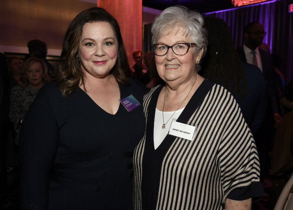 Melissa McCarthy and mom Sandy