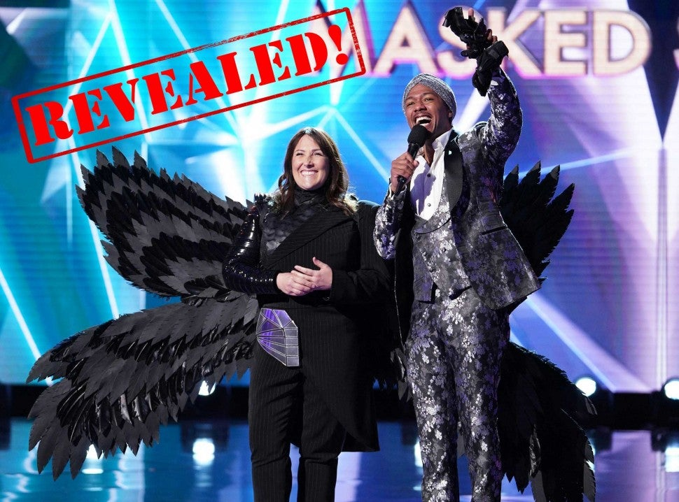 Ricki Lake revealed to be The Raven on Fox's 'The Masked Singer'