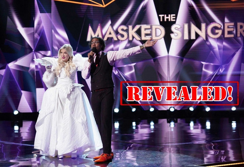 Tori Spelling revealed to be The Unicorn on Fox's 'The Masked Singer'