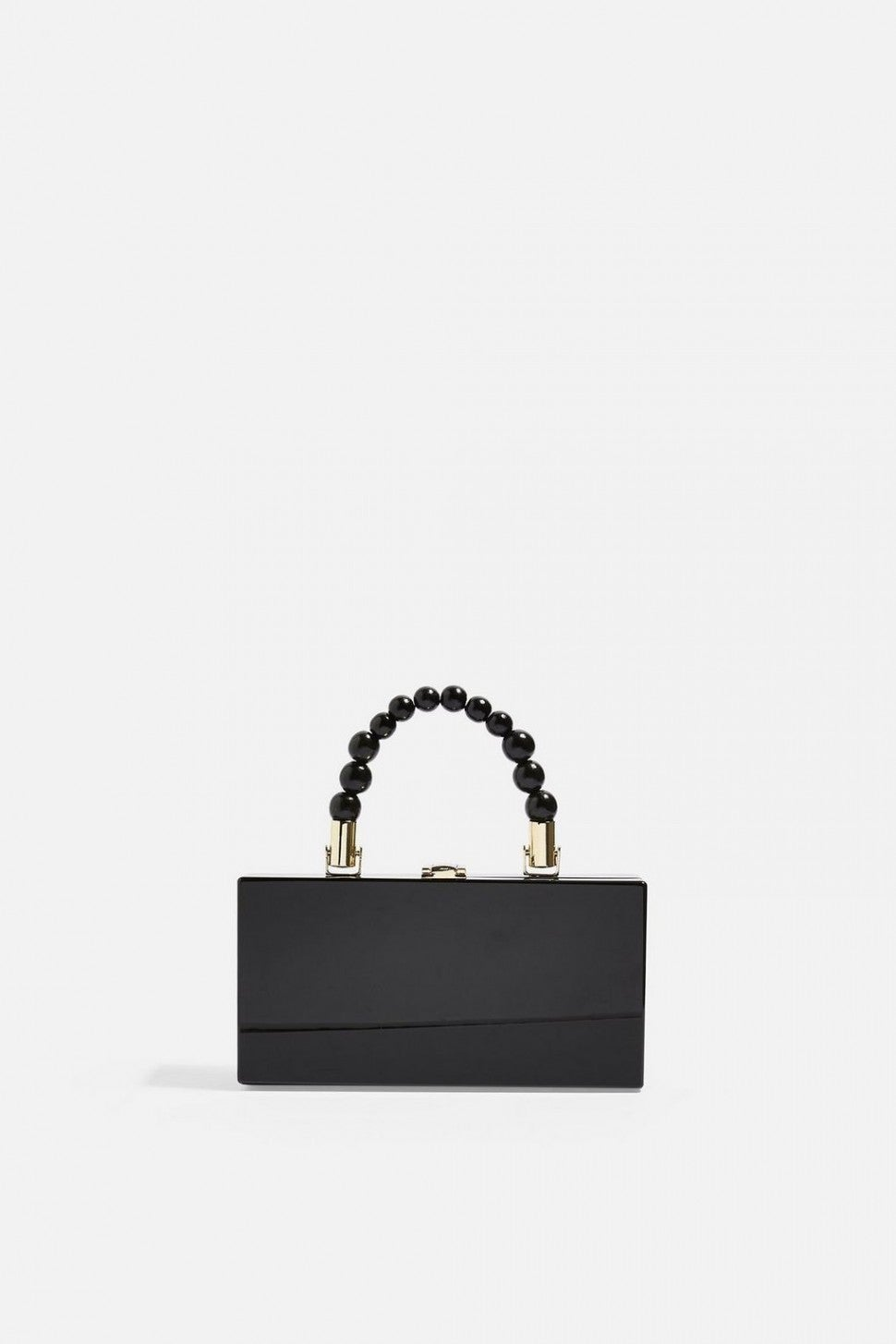 Topshop black boxy grab bag