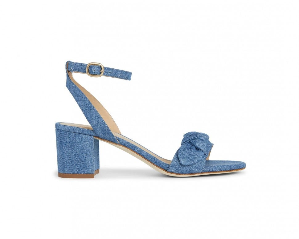Draper James x M.Gemi chambray sandal