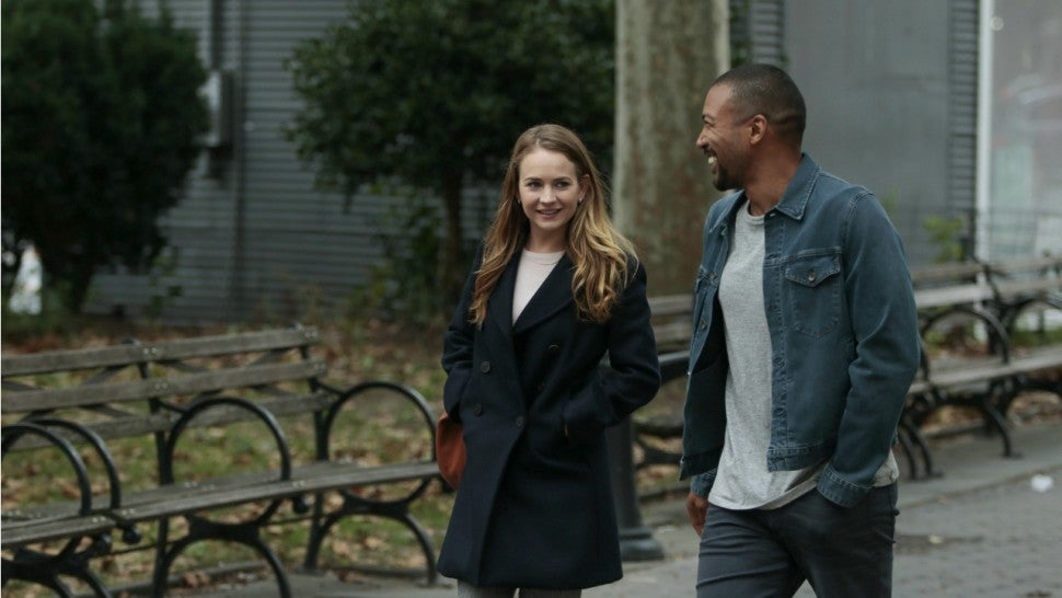 For the People: Britt Robertson and Charles Michael Davis