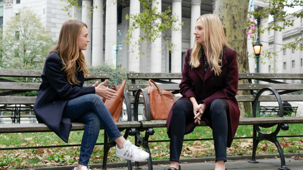 For the People: Britt Robertson and Hope Davis