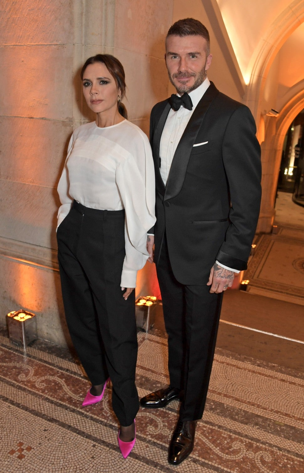Victoria and David Beckham at National Portrait Gallery Gala