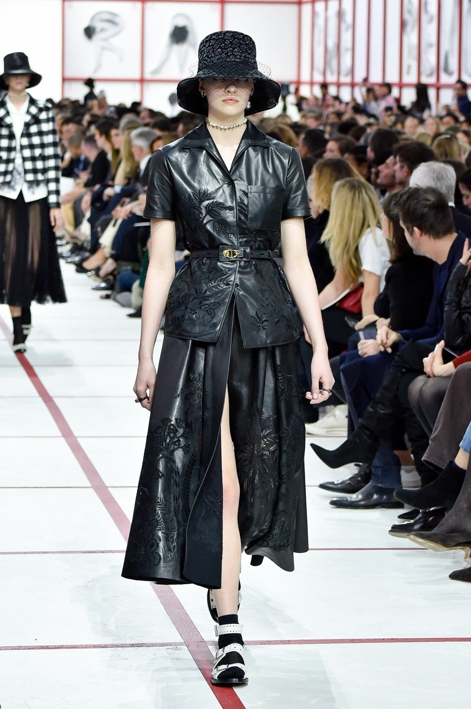 Christian Dior fall 2019 leather trend