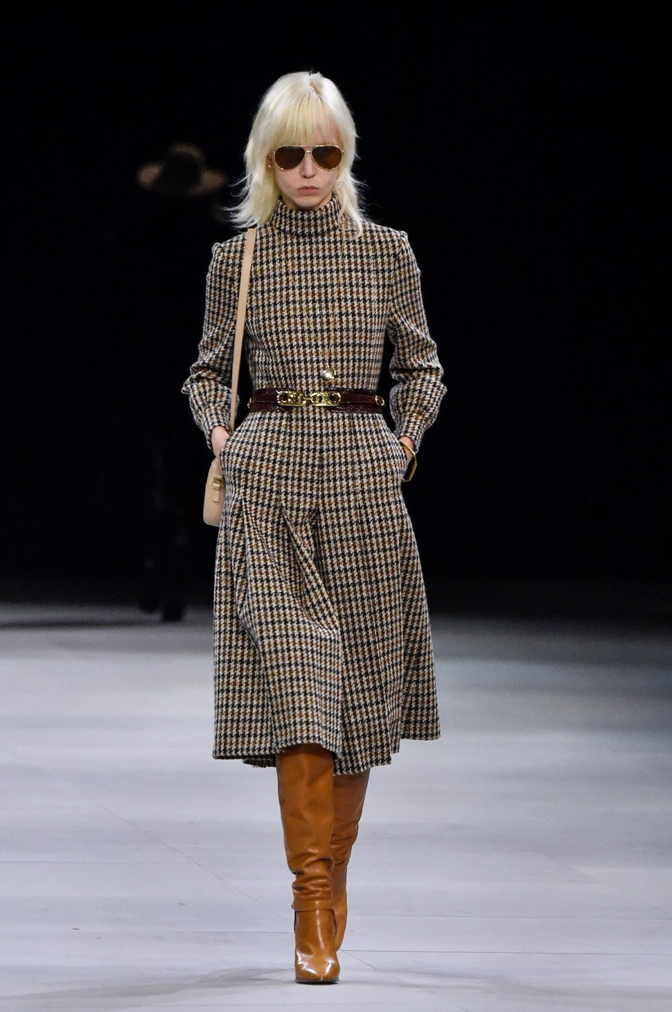 Celine fall 2019 houndstooth trend