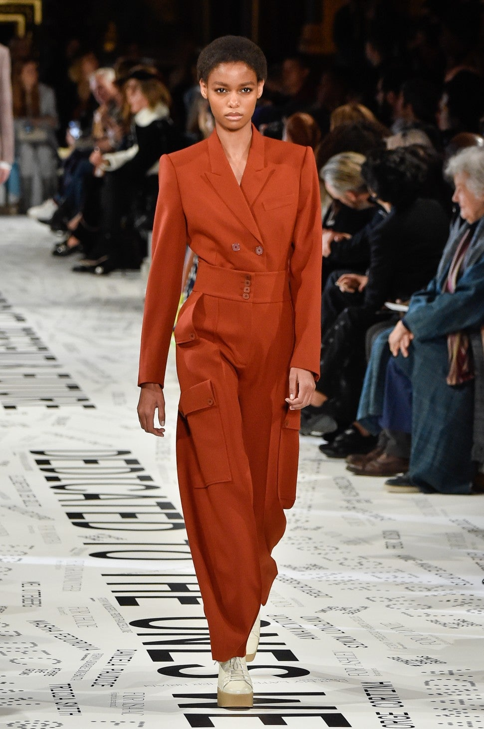 Stella McCartney fall 2019 rust color trend