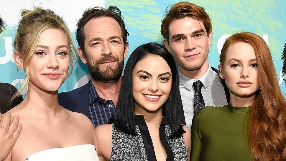 Luke Perry Camila Mendes