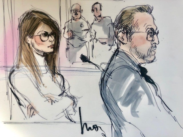 Lori Loughlin Court Room Sketches