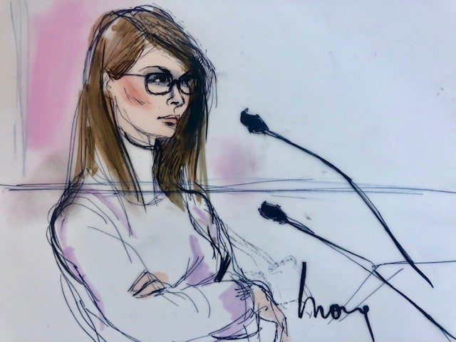 Lori Loughlin Court Sketches