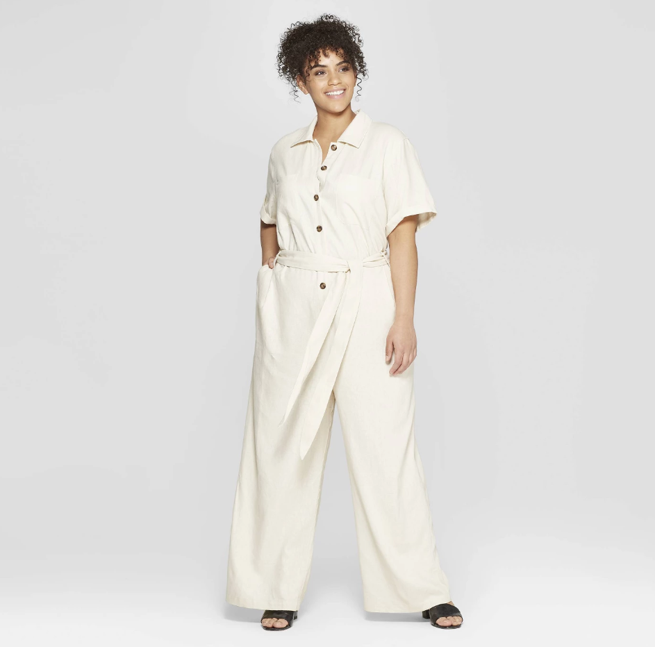 Who What Wear x Target utility jumpsuit