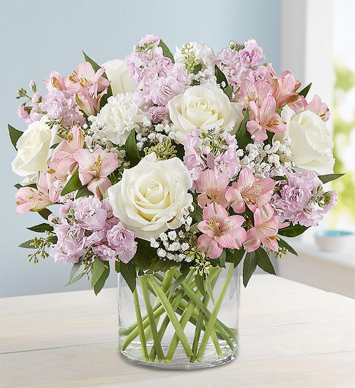 1-800-Flowers elegant blush bouquet