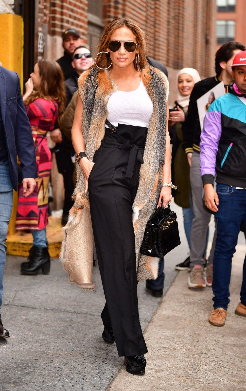 Jennifer Lopez at z100 on april 9