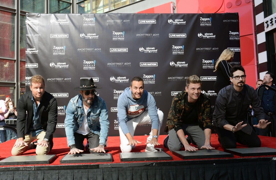 Backstreet Boys Planet Hollywood Resort & Casino in Las Vegas