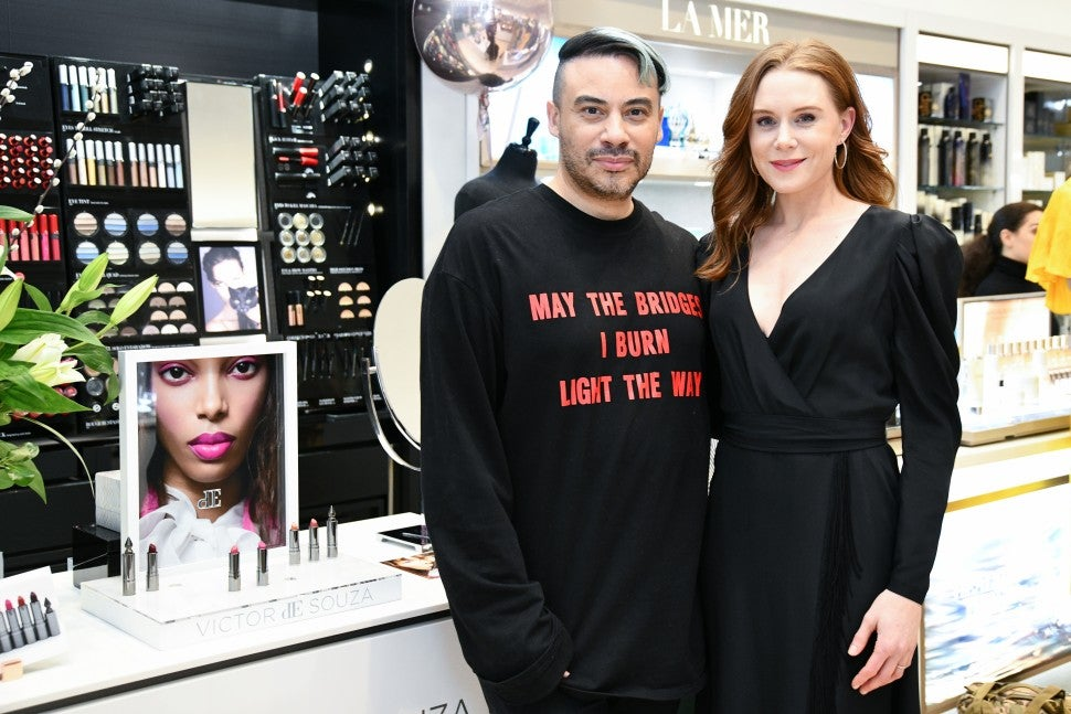 Christiane Seidel, Victor de Souza's luxury lipstick launch