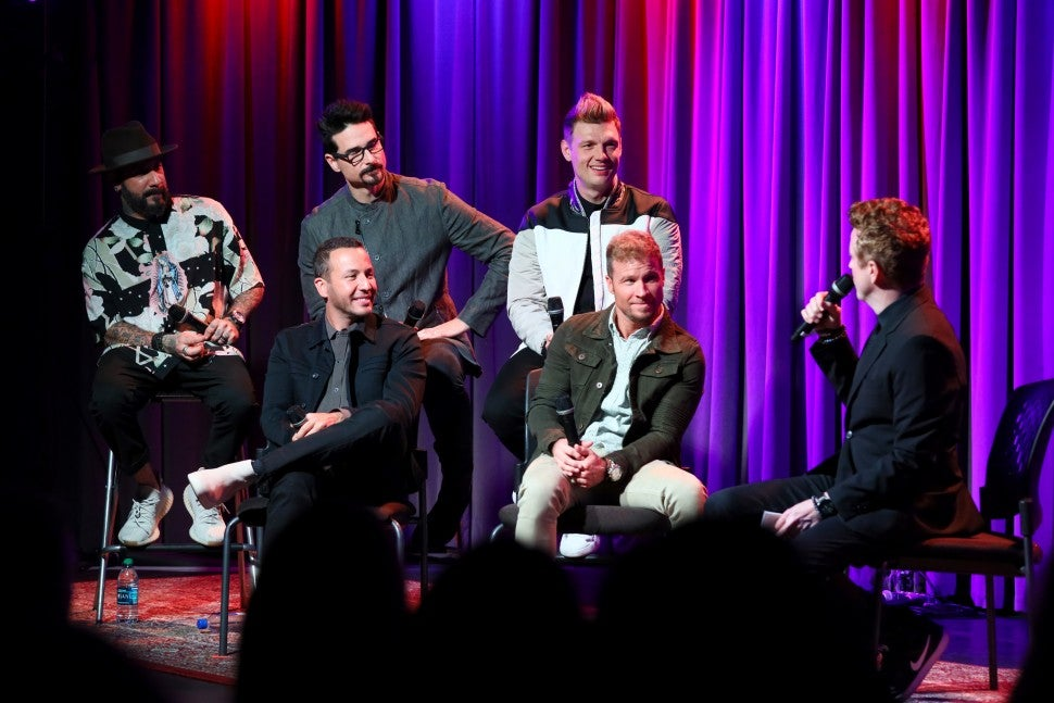 Backstreet Boys GRAMMY Museum