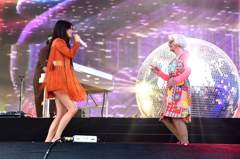 Kacey Musgraves and Baddiewinkle at Coachella