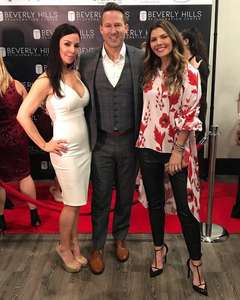Ali Landry at Beverly Hills Rejuvenation Center event