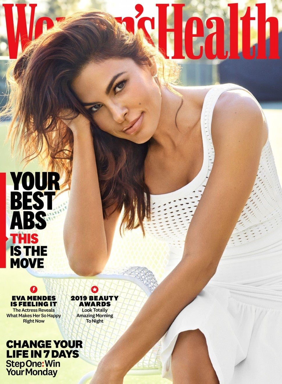 Eva Mendes for 'Women's Health'